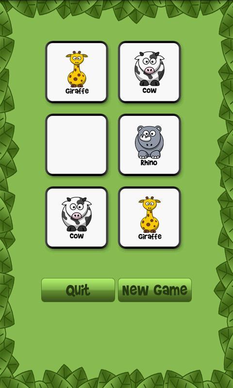 Animal Memory Match- screenshot