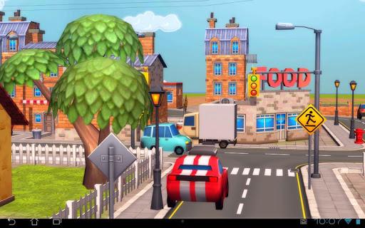 Cartoon City 3D live wallpaper Alkalmazások részére Android screenshot