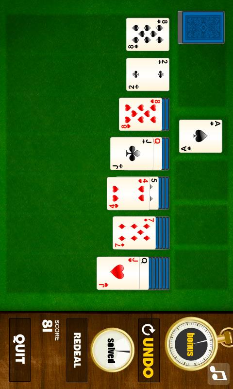 Solitaire 2- screenshot