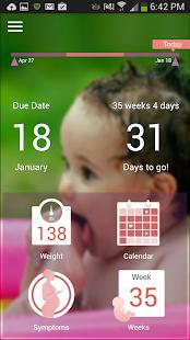 I'm Expecting - Pregnancy App - screenshot thumbnail