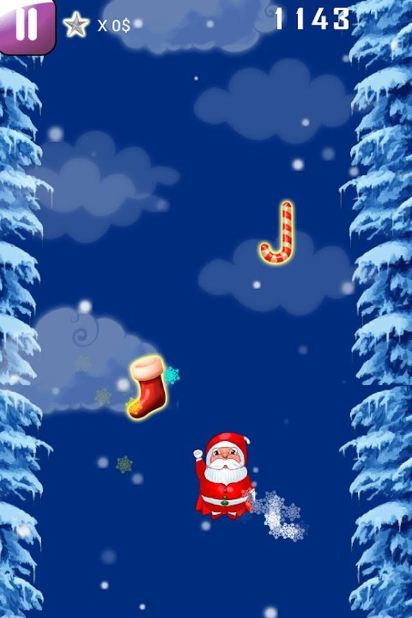 Santa Sky Ride - screenshot