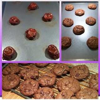 German Chocolate Brownie Cookies