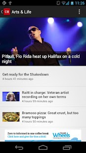 The Chronicle Herald News - screenshot thumbnail