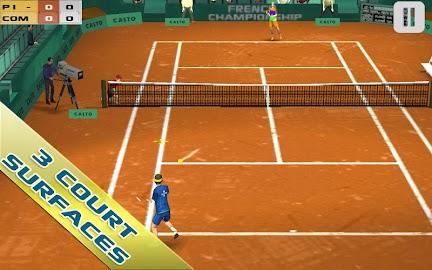 Cross Court Tennis Free Screenshot 3