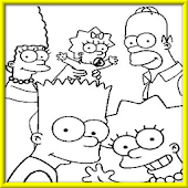 How to draw Simpsons Family