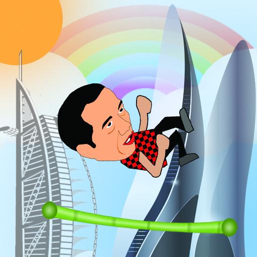 Jokowi Bouncing 街機 App LOGO-APP試玩
