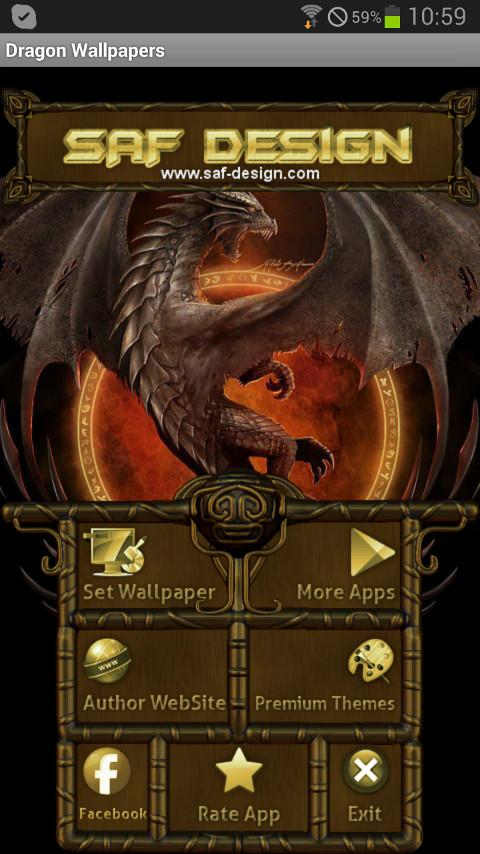 Dragon GO Launcher EX Theme - screenshot