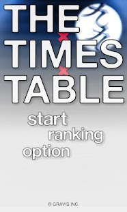 THE TIMES TABLE - screenshot thumbnail