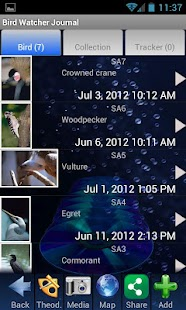 Bird Watching Journal - screenshot thumbnail