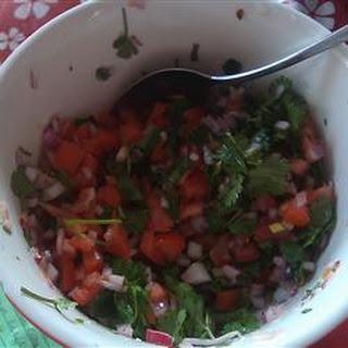 Salvadoran Salsa (Chimol)