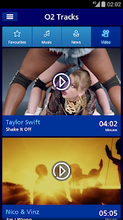 O2 Tracks - Music & Video- screenshot thumbnail