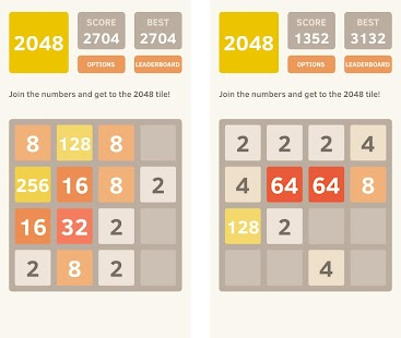2048 - The best puzzle Game screenshot