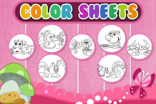 Color Sheets สมุดภาพระบายสี
