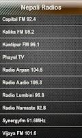 Screenshot of Nepali Radio Nepali Radios
