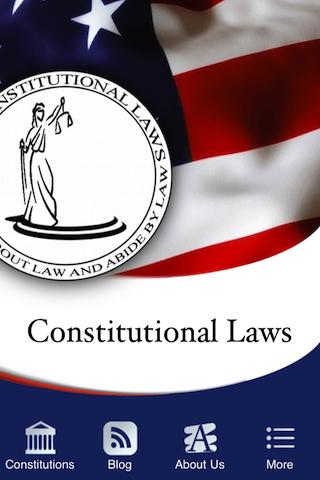 Constitutional Laws