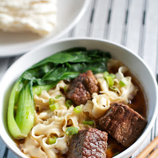 Taiwanese Beef Noodle Soup.