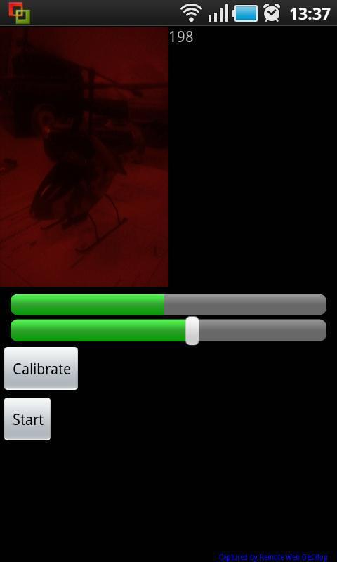 IR Target - screenshot