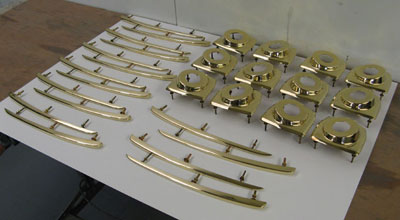 Small batches of handmade Aston Martin DB2 bodywork mouldings