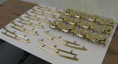 Small batches of handmade Aston Martin DB2 bodywork mouldings