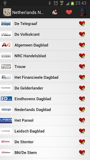 荷兰报纸和新闻