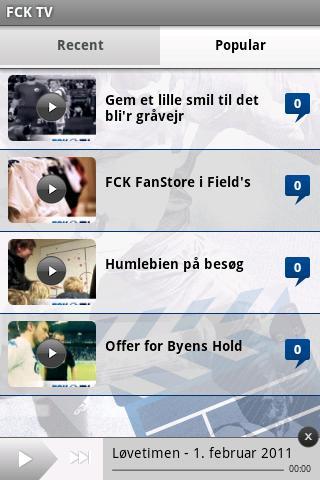 F.C. København- screenshot