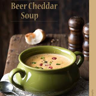 Beer Cheddar Soup.