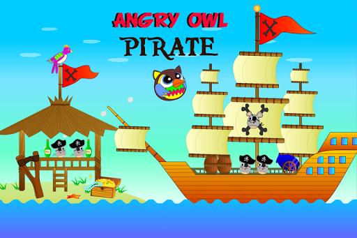 Angry Owl Pirate