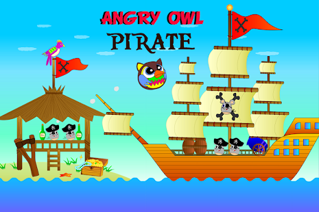 Angry Owl Pirate - náhled