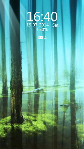 Water Forest Live Locker Theme