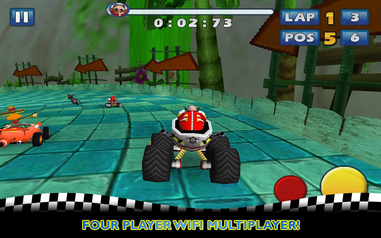 Sonic & SEGA All-Stars Racing- screenshot