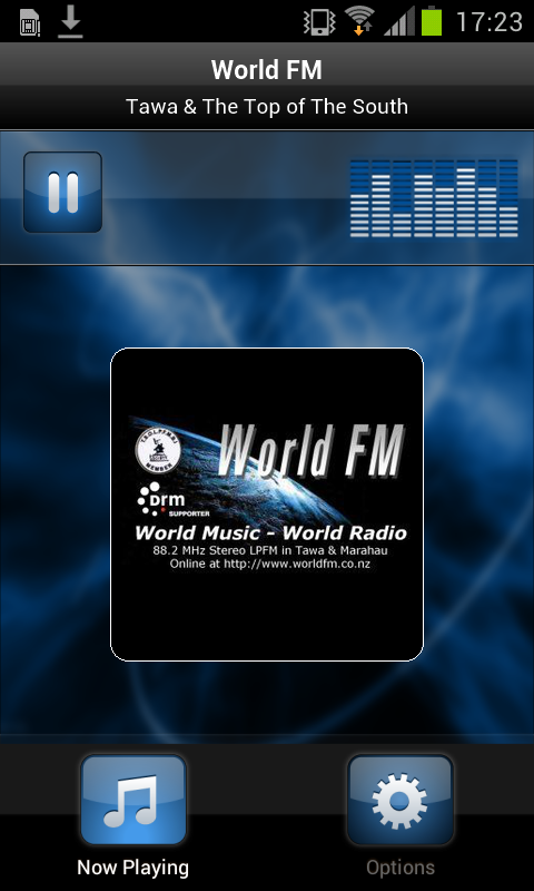 World FM- screenshot