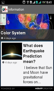 Earthquake Prediction screenshot 5