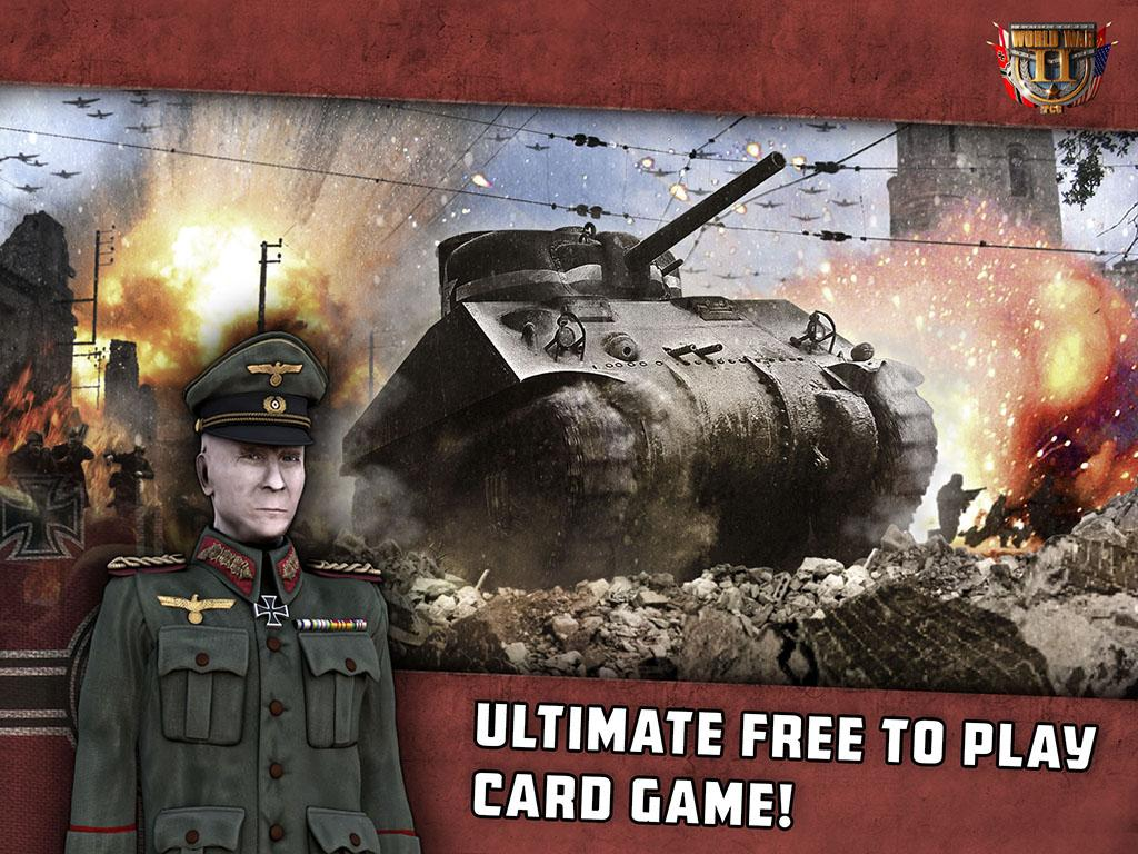 World War II: TCG- screenshot