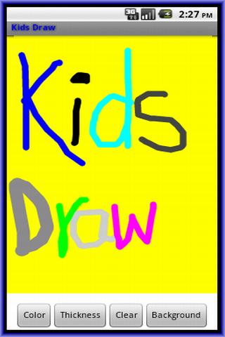 Kids Draw- screenshot