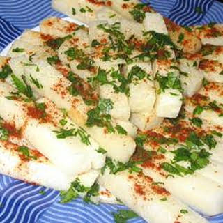 Mexican Jicama Snack.