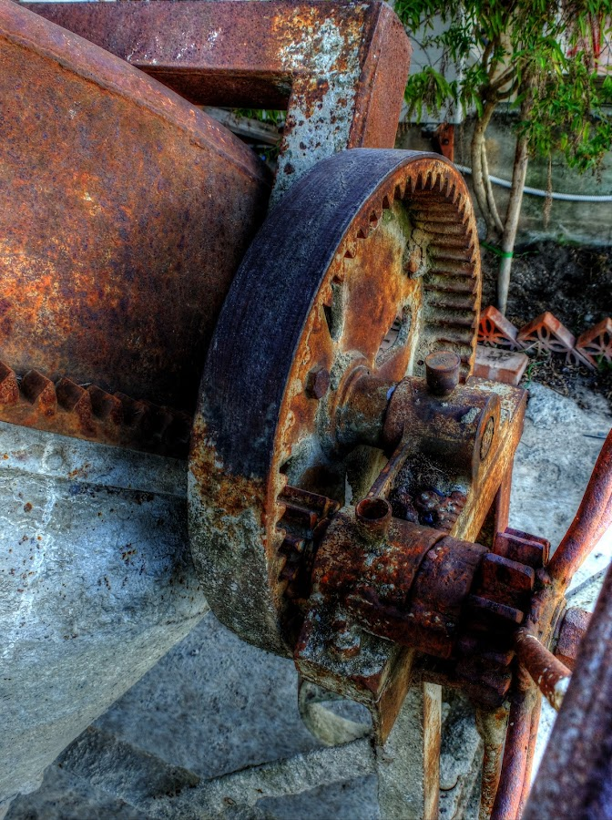 Rusty gears by Maurizio Tuccio - Buildings & Architecture Decaying & Abandoned ( hdr, rusty, gears, abandoned, decay,  )