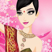 Make Indian girl Dress up
