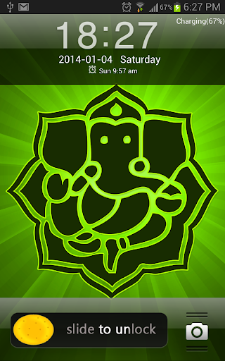 God Ganesha Go Locker