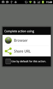 Browser Intercept - Share URL- screenshot thumbnail