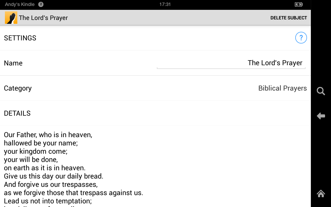 PrayerMate - screenshot
