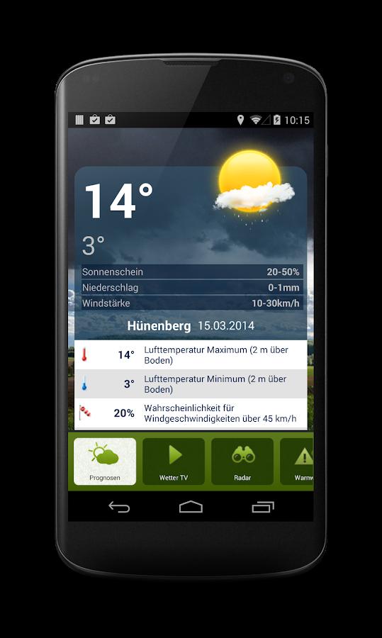 LANDI Wetter - screenshot