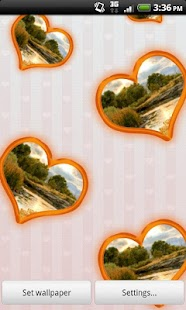Love & Hearts Photo Wallpaper- screenshot thumbnail