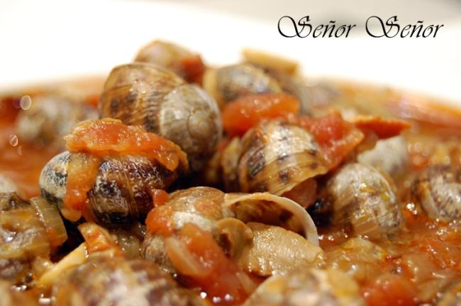 Stewed Snails