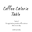 Coffee Calorie Table icon
