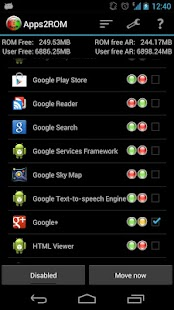 Apps2ROM [ROOT] - screenshot thumbnail