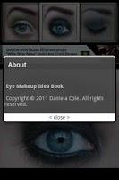 Screenshot of Eye Makeup Idea Book