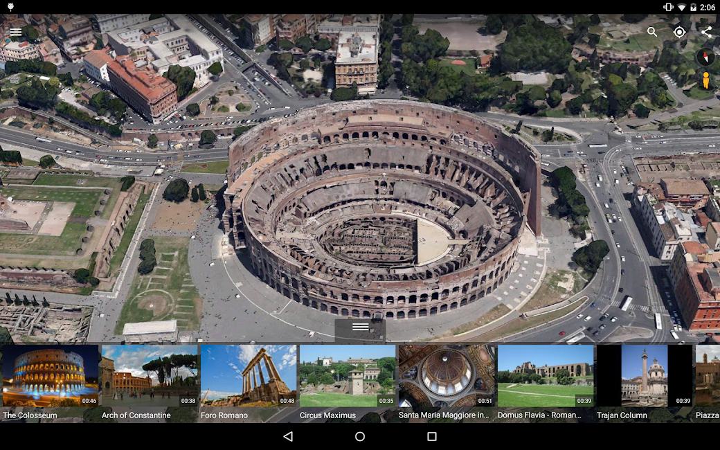 #8. Google Earth (Android)