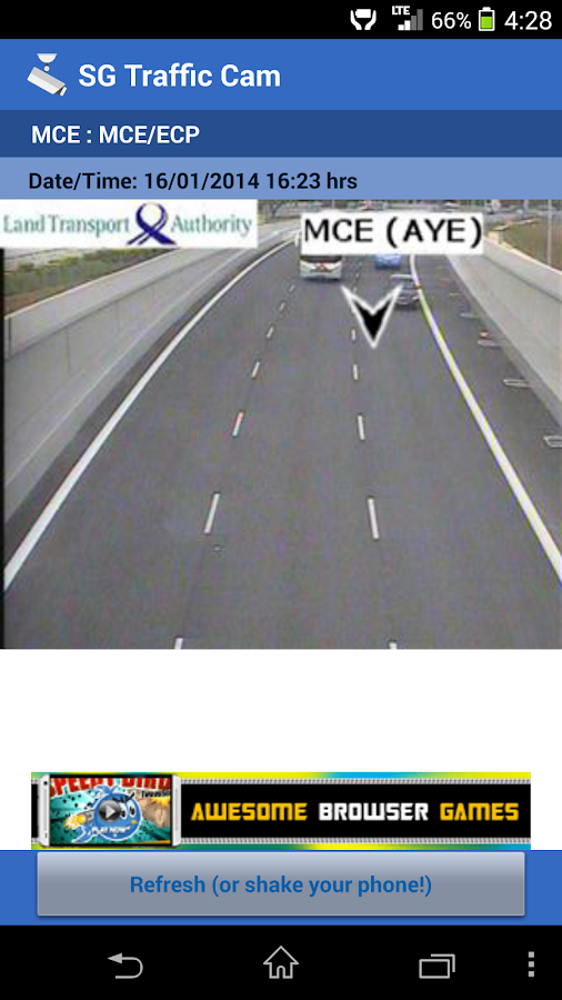 SG Traffic Cam - screenshot