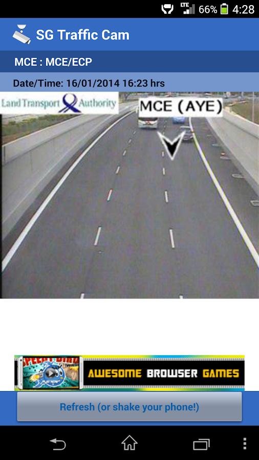 SG Traffic Cam - screenshot