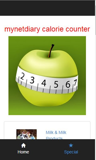 mydiary calorie counter